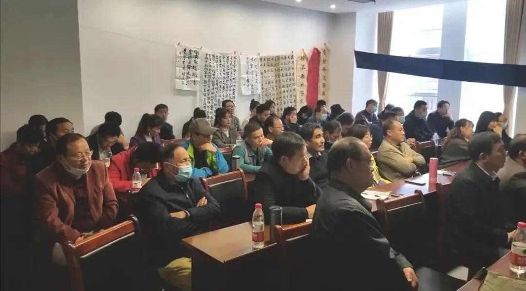 蚌埠市书法家协会举办2020年度新会员培训活动(图2)