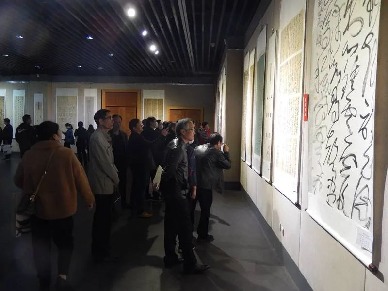 滁州市第五届美术、书法、摄影作品双年展在滁州美术馆举行(图4)