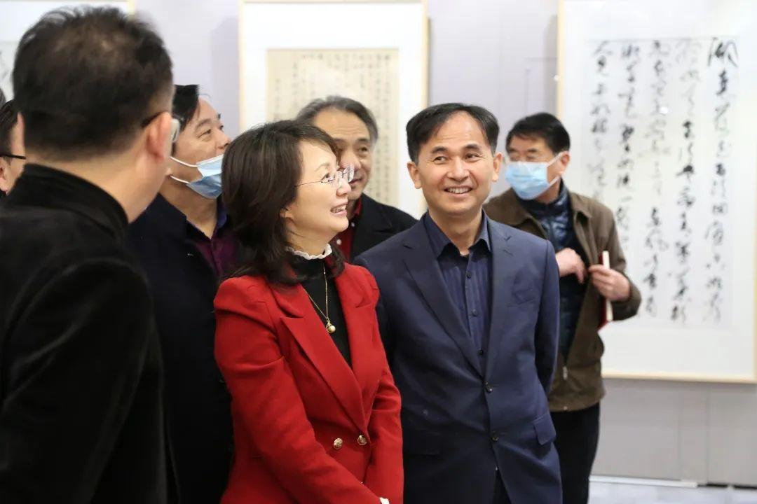 传承红色文化 携手共迎小康 苏皖两省六市书画展在蚌埠开幕(图4)