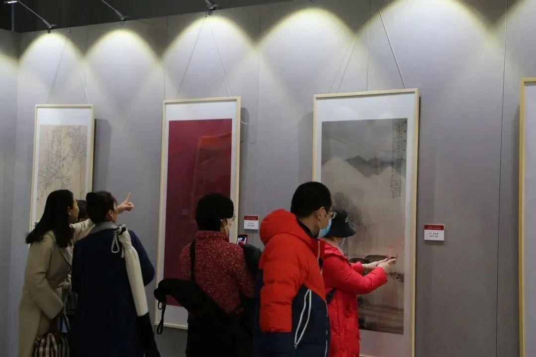 传承红色文化 携手共迎小康 苏皖两省六市书画展在蚌埠开幕(图5)