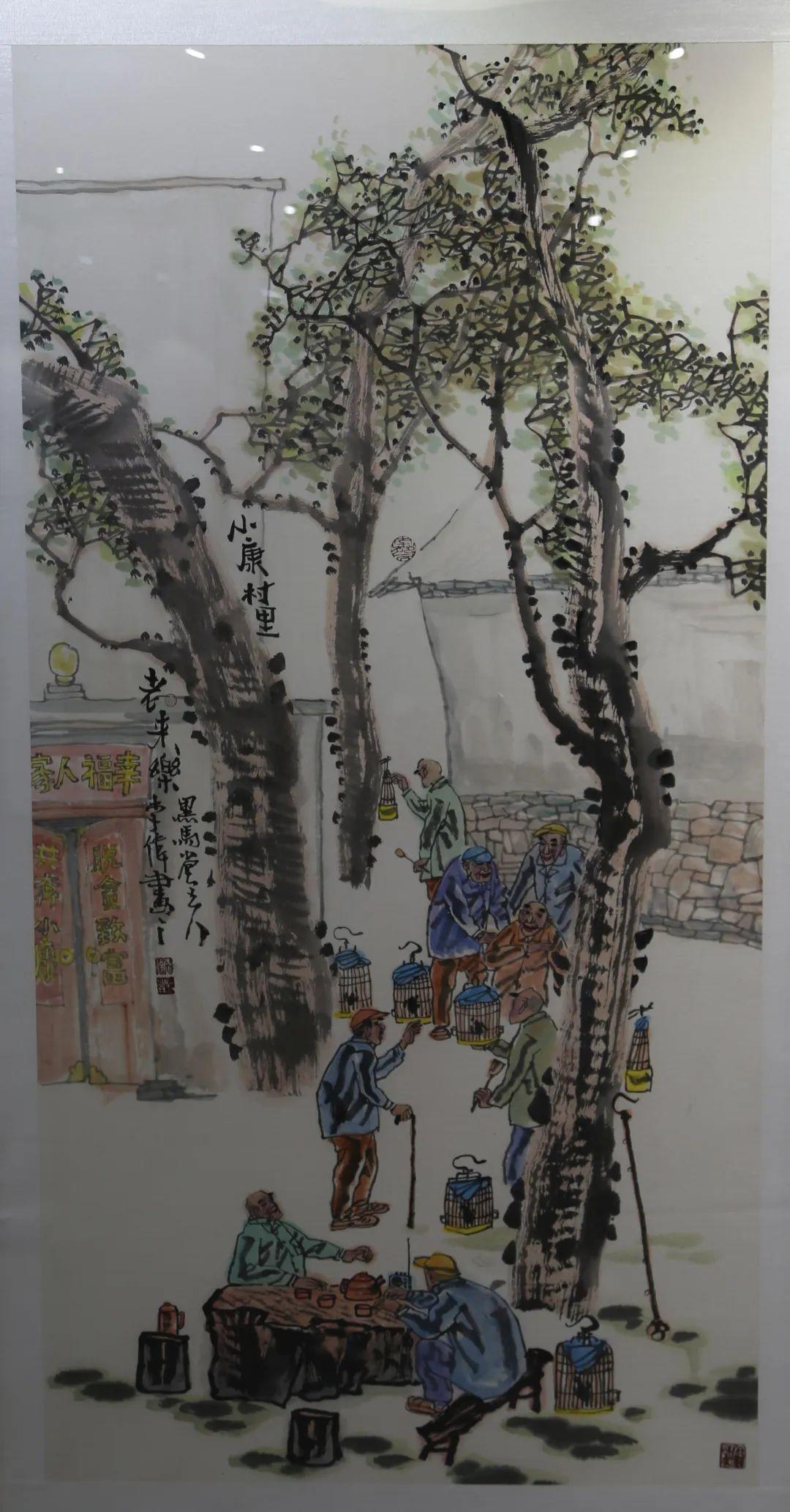 传承红色文化 携手共迎小康 苏皖两省六市书画展在蚌埠开幕(图11)
