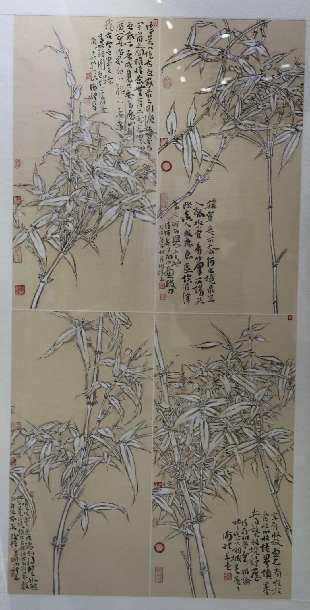 传承红色文化 携手共迎小康 苏皖两省六市书画展在蚌埠开幕(图10)