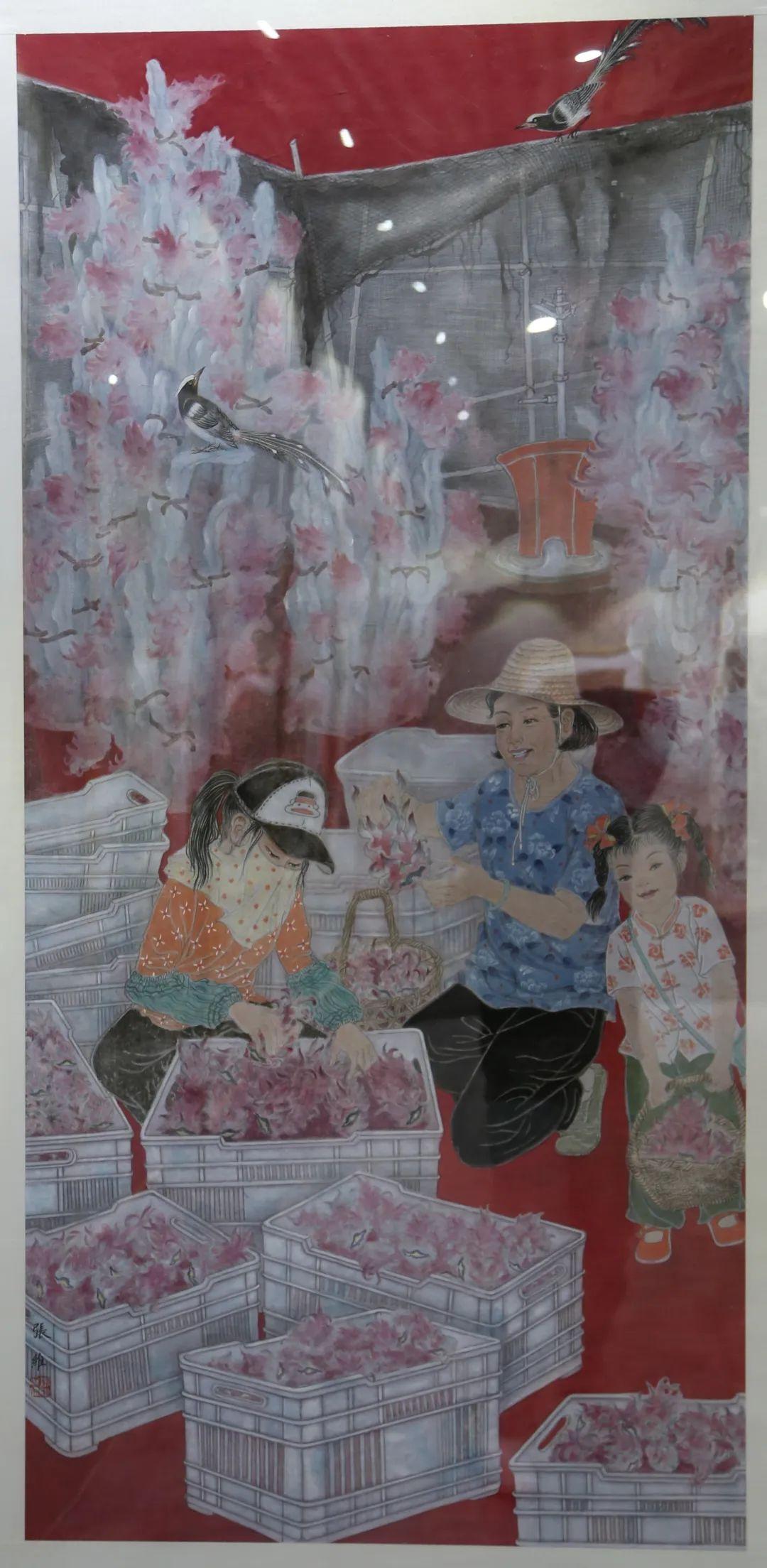 传承红色文化 携手共迎小康 苏皖两省六市书画展在蚌埠开幕(图13)