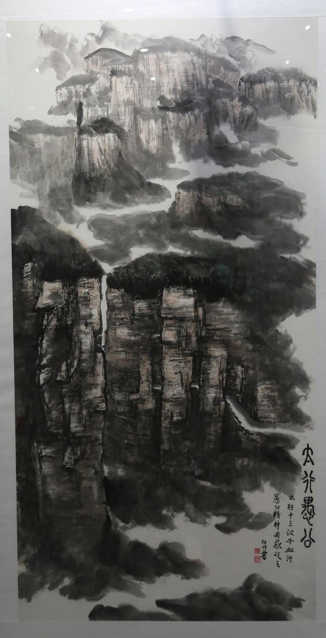 传承红色文化 携手共迎小康 苏皖两省六市书画展在蚌埠开幕(图12)
