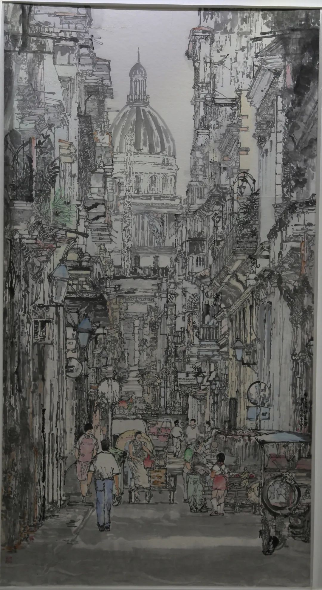 传承红色文化 携手共迎小康 苏皖两省六市书画展在蚌埠开幕(图16)