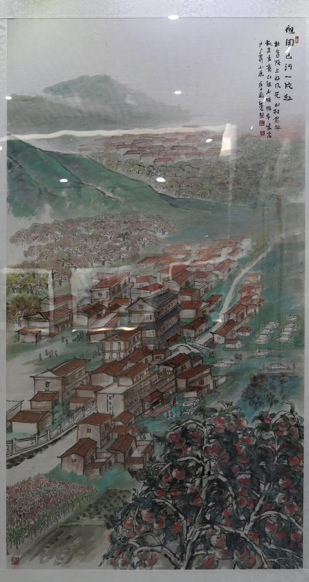 传承红色文化 携手共迎小康 苏皖两省六市书画展在蚌埠开幕(图15)