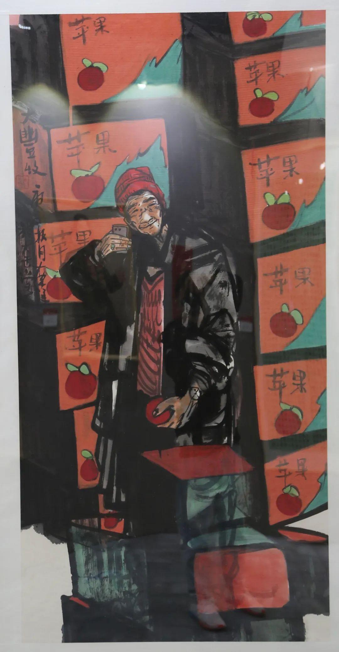 传承红色文化 携手共迎小康 苏皖两省六市书画展在蚌埠开幕(图20)