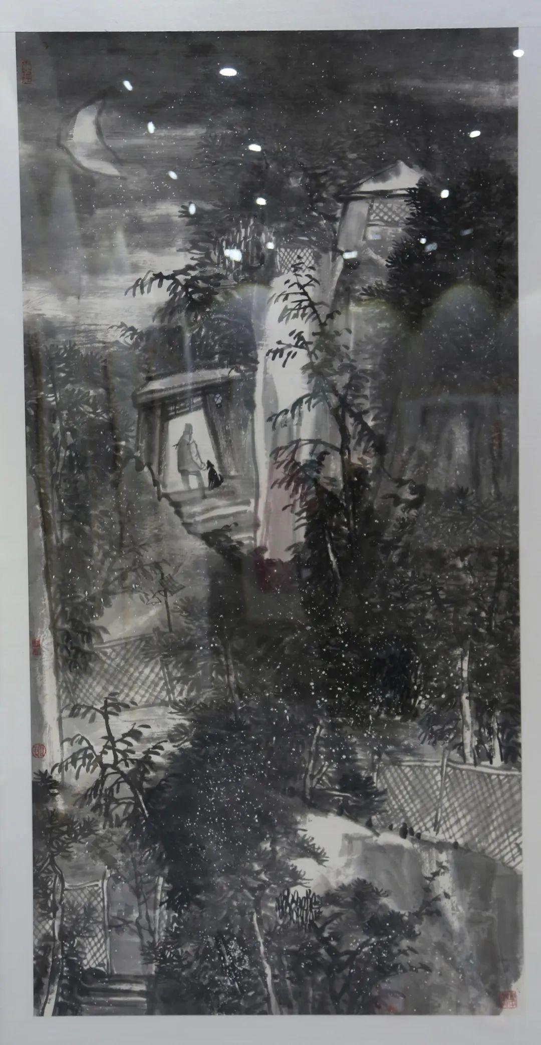 传承红色文化 携手共迎小康 苏皖两省六市书画展在蚌埠开幕(图22)