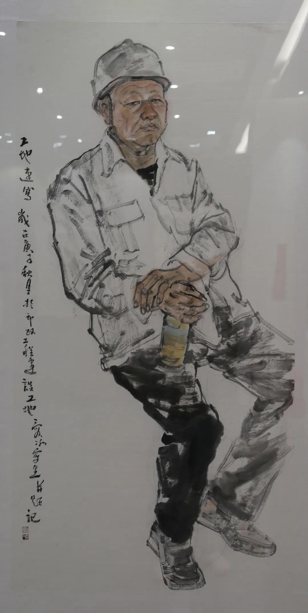 传承红色文化 携手共迎小康 苏皖两省六市书画展在蚌埠开幕(图26)