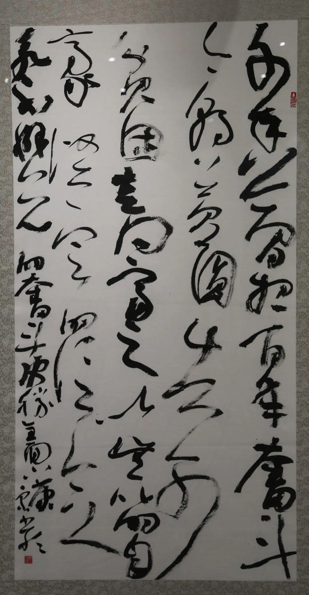 传承红色文化 携手共迎小康 苏皖两省六市书画展在蚌埠开幕(图41)